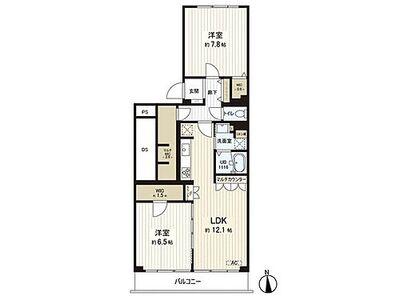 白鷺ハイム1号棟 ~ 南向き陽当たり・通風良好 総戸数206戸のビックコミュニティー 管理体制良好 新規内装リノベー…