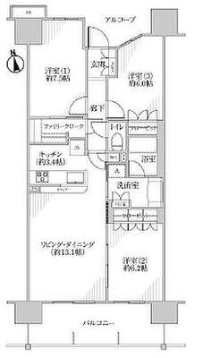 ユトリシア弐番館 5階部分