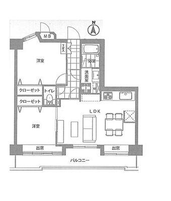 ライオンズシティ浮間公園 ~ 新規内装リノベーション 南向き・日当り良好 家具対・食洗器付き 住宅ローン控除対象物件・登録免…