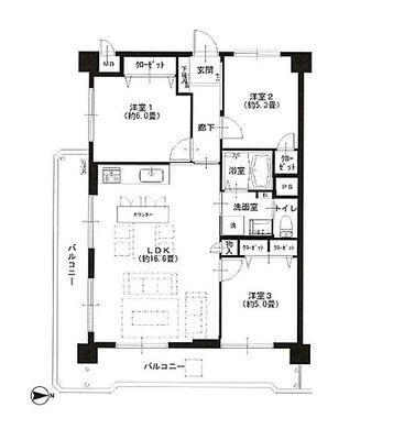 トーア千住マンション 新規内装リフォームマンション アフターサービス保証付き 家具付き販売 フラット35適合物件 3駅6…