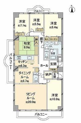 コスモフォーラム多摩1号棟 ~ 3方角部屋陽当たり・眺望・通風良好 総戸数220戸のビックコミュニティー 24時間有人管理 管…