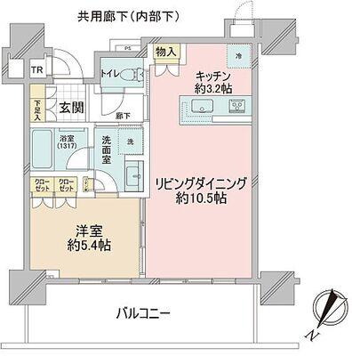 Brillia 有明 City Tower 地上33階地下1階建ての7階住戸。北西向きで、トランクルームでの収納性もあります。床暖房、ディスポ…