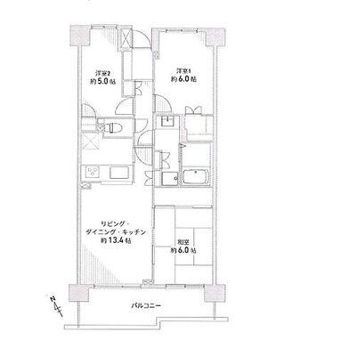 サンヴェール横浜西谷 ~ 新規内装リフォームマンション カウンターキッチン採用の使いやすい間取りの3LDK ローン控除適…