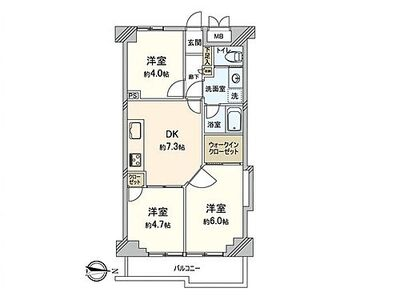 ライオンズマンション池上第2 ~ 新規内装リノベーション アフターサービス保証付き 新耐震基準マンション 4階・角部屋、通風良好…