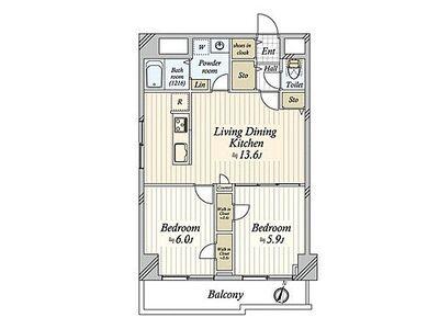 シンハイム東十条 ~ 新規内装リノベーション 安心のアフターサービス保証付き 管理体制良好 豊富な収納 南西角部屋 …