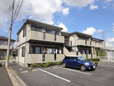 レトア中村 南向きの日当たりの良いアパートです!全戸角部屋タイプ