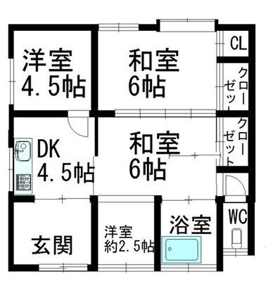 秋田県仙北市田沢湖生保内字久保12-8 3DK