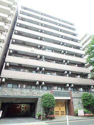 グランド・ガーラ横浜関内 綺麗な分譲仕様の外観