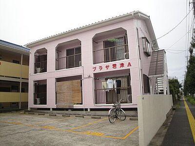 プラザ君津A 外壁をかわいいピンク色にしました