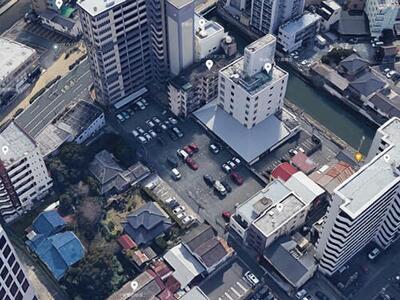 古船場月極駐車場