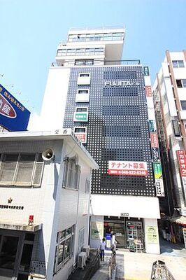 藤田ビル 中央駅並びのメガネ屋さんがあるビルです