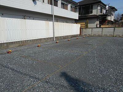 北町6丁目鈴木駐車場 外観もきれいです