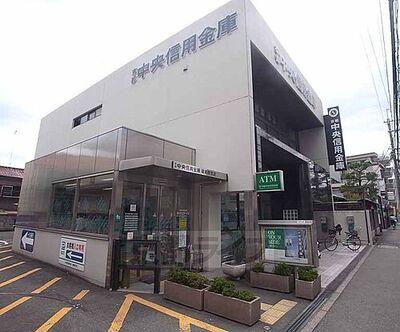 京都中央信用金庫 嵯峨野支店まで139m 周りにはスーパーや銭湯などもあり、近隣施設充実