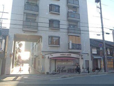 西陣グランドハイツ1階店舗 外観写真