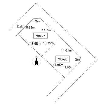 桜1(小樽築港駅) 250万円 土地価格250万円、土地面積268.27m<sup>2</sup>