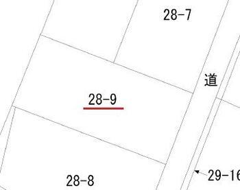 大字道仏字耳ケ吠(大蛇駅) 250万円 土地価格250万円、土地面積244.38m<sup>2</sup>