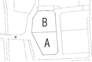 横田町字久連坪 495万円 土地価格495万円、土地面積363.91m<sup>2</sup> B