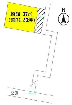 畳屋丁(連坊駅) 850万円 土地価格850万円、土地面積58.44m<sup>2</sup>