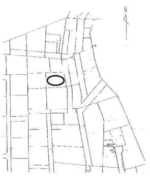 大和3(江曽島駅) 2180万円 土地価格2180万円、土地面積284m<sup>2</sup> 区画図