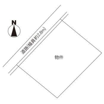 見川2(偕楽園駅) 1250万円 土地価格1250万円、土地面積249m<sup>2</sup> 区画図