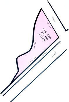 大字用土(用土駅) 716万円 土地価格716万円、土地面積296.03m<sup>2</sup>