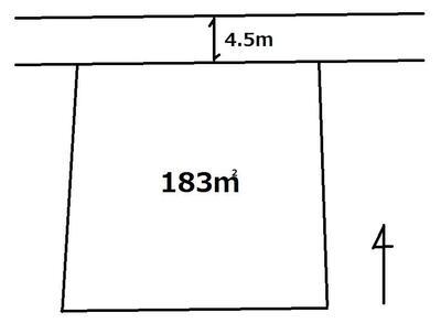 高道祖(下妻駅) 110万7000円 土地価格110万7000円、土地面積183m<sup>2</sup>