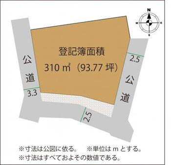 多田木町(富田駅) 200万円 土地価格200万円、土地面積310m<sup>2</sup>