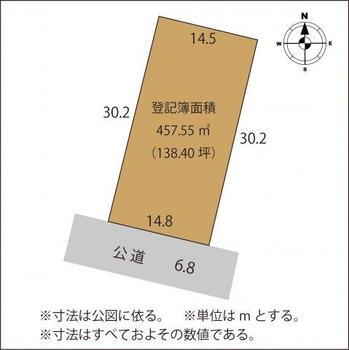 東砂原後町(足利駅) 1522万円 土地価格1522万円、土地面積457.55m<sup>2</sup>