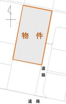 新道町(細谷駅) 1480万円 土地価格1480万円、土地面積634m<sup>2</sup>