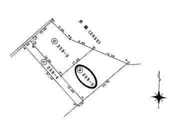 大島(越中中村駅) 230万円 土地価格230万円、土地面積264m<sup>2</sup>