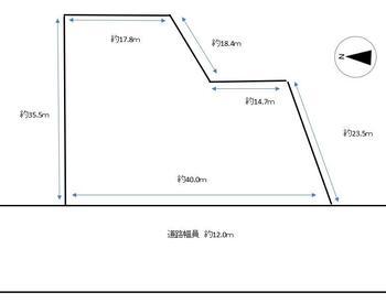 沓掛(荻生駅) 1898万円 土地価格1898万円、土地面積1,165.84m<sup>2</sup>