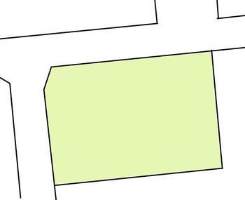 柳井田町2(北新井駅) 707万円 土地価格707万円、土地面積265.3m<sup>2</sup> 区画図
