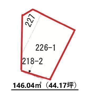 東上関(高岡駅) 970万円 土地価格970万円、土地面積146.04m<sup>2</sup>