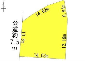 西浦町南馬相(西浦駅) 950万円 土地価格950万円、土地面積206.11m<sup>2</sup>