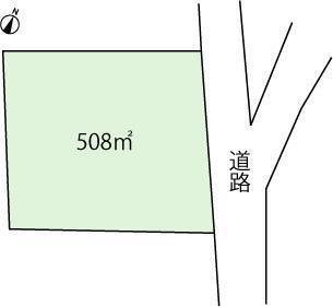 上多賀 98万円 土地価格98万円、土地面積508m<sup>2</sup>