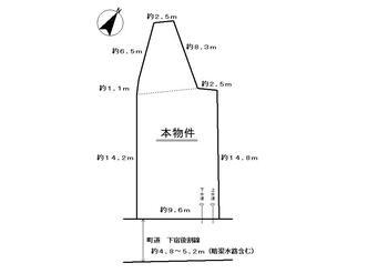 森(戸綿駅) 525万円 土地価格525万円、土地面積170.99m<sup>2</sup>