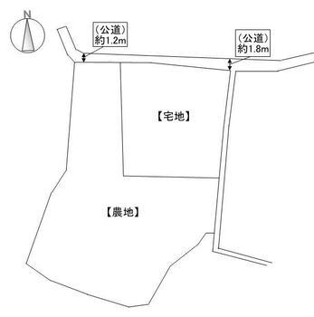 大田原(和気駅) 90万円 土地価格90万円、土地面積247m<sup>2</sup>