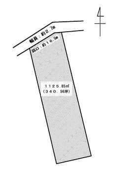 大字笹渕 715万円 土地価格715万円、土地面積1,125.85m<sup>2</sup>