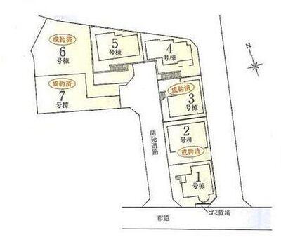 横浜市南区大岡 建築条件付売地 上大岡より15分以内 1号棟