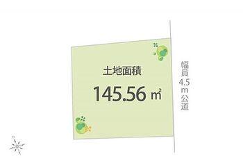 所沢市本郷 土地 区画図