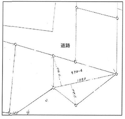 所沢市山口 売地 区画図