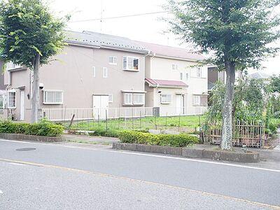 加須市正能 建築条件無し売地 加須市正能にあります売地の現地です。