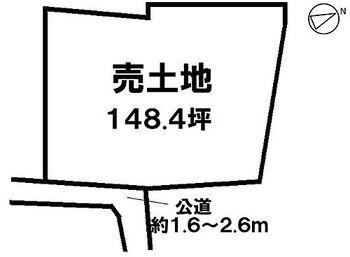 半田市乙川市場町2丁目 生活施設や文教施設が整ったエリア ゆとりの148.4坪売土地 詳細はお問合せください