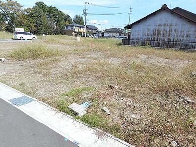 各務原市川島河田町 建築条件無し売地7号地 約53坪のゆったりとした敷地。