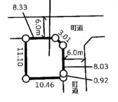 滑川町月の輪 全51区画 47区画(区画図参照)
