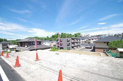 多摩市連光寺5丁目 建築条件付き売地(全2区画)1区画 令和元年6月17日撮影