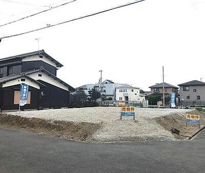 加古川市新野辺北町二丁目 分譲地(1と2号地) 現地写真
