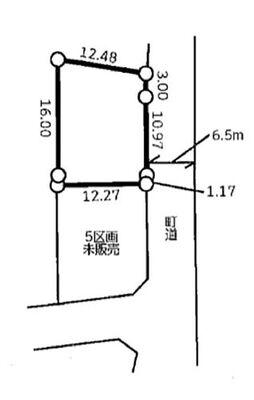 滑川町月の輪 全51区画 6区画(区画図参照)