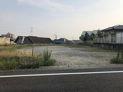 愛知郡東郷町北山台 A区画 前面道路現地写真