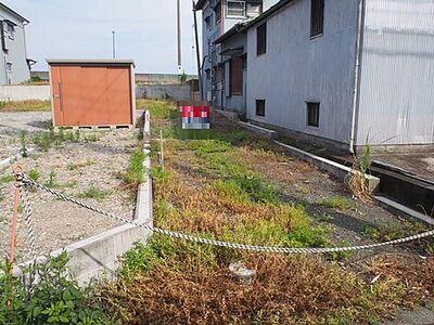 小田原市早川 建築条件無し売地 2区画 2区画の現地写真です。